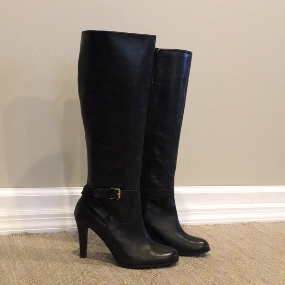 cf4edb9fc Ralph Lauren women's boots. M_5c54a6c7951996e654f648a4. Other Shoes you may  like. Ralph Lauren Black Heel Boots Leather